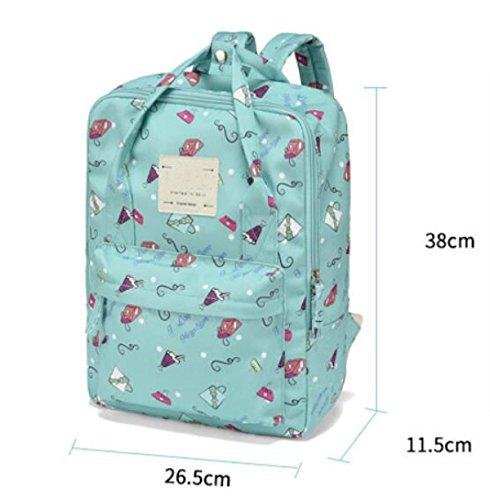 FZHLY Sacchetto Di Spalla Della Nuova Tela Di Canapa Fashion Backpack Di Campus Del Freshman,Beige Beige