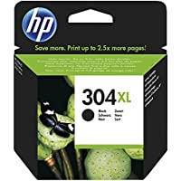 HP 304XL - Cartucho de tinta original de alta capacidad negro, color negro