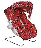 BabyGo Baby Carry Cot Multifunction Comfort Thick Cushioned Seat (Red)