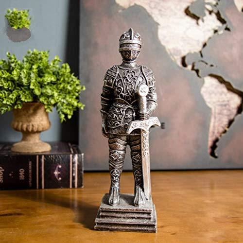 hacxiaoming Statue Vintage Römischen Harz Soldat Kreative Schlafzimmer Dekor Kunst Handwerk Geschenk Dekoration Vintage-Stil Und Kreative Dekorative Elemente Triumph - Schwert