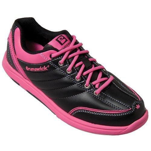 womens-diamond-bowling-shoes-brunswick-black-hot-pink-black-hot-pink-size6-by-diamond