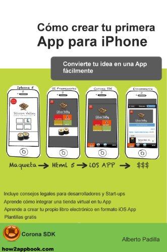 Portada del libro Cómo crear tu primera App para iPhone