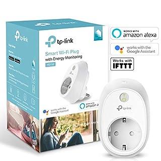 TP-Link Kasa Smart WLAN Steckdose mit Stromverbrauchsaufzeichnung, funktionieren mit Amazon Alexa (Echo und Echo Dot, Google Home und IFTTT, Kein Hub erforderlich, Steuern Sie Ihre Geräte von überall aus)