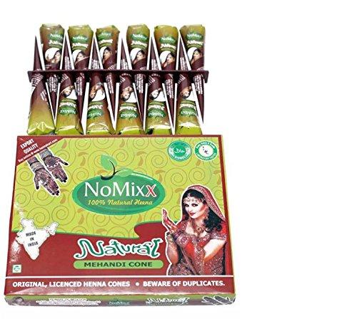 No Mix 100% Natural Mehandi Cone