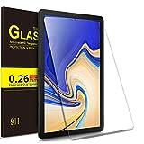 IVSO Templado Protector para Samsung Galaxy Tab S4 10.5 SM-T830N/T835N, Premium Cristal de Pantalla de Vidrio Templado para Samsung Galaxy Tab S4 SM-T830N/T835N 10.5 Pulgadas 2018, 1 Pack