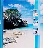 HENZO Jumbo Fotoalbum Insel - 100 Seiten für bis zu 600 Fotos - Bilderalbum - Jumboalbum - Album - Urlausalbum