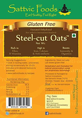 Gluten-free Steel cut Oats (Scottish Oatmeal)