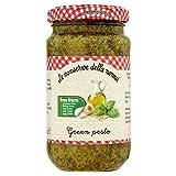Le Conserve Della Nonna Productos lácteos y gluten libre salsa de pesto verde 185g
