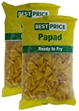 #6: Spar Combo - Best Price Papad Yellow Tringle, 200g (Pack of 2) Promo Pack