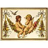 Nostalgic-Art 16274 Pfunds - Pfunds Engel, Blechpostkarte 10x14 cm