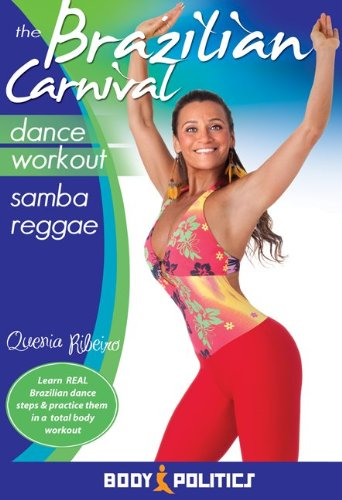 The Brazilian Carnival Dance Workout - Samba Reggae, with Quenia Ribeiro: Samba fitness classes, Brazilian samba instruction [DVD] [ALL REGIONS] [NTSC] [WIDESCREEN]
