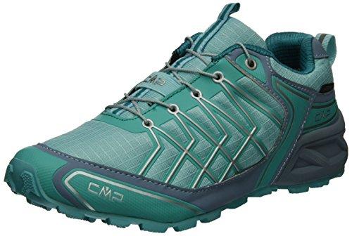 CMP Super X - Scarpe da Trail Running Donna Turchese (Anice-acciaio-curacao)