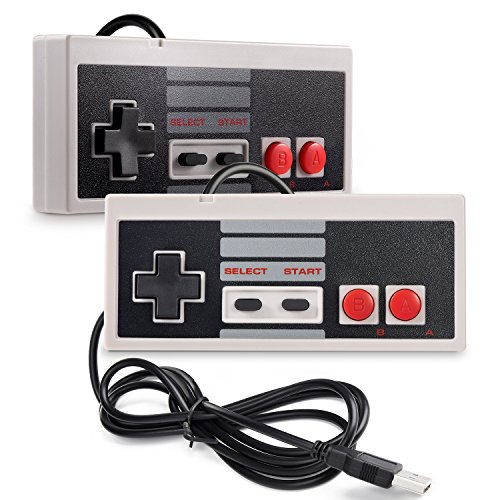 INNEXT 2X USB NES/FC Mando Juegos PC Mac Windows Raspberry