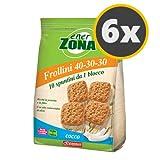 6 Enerzona Frollini 40-30-30 da 250 g. gusto Cocco immagine
