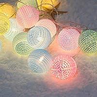 Weihnachtsdekorationslichter, 4M 20LED Weihnachtsschnurlichter - wasserdichter gewölbter Ball führte Lampe DC12V, die für Schlafzimmerdekorationen, Parteien, Stadium, Hochzeit perfekt ist preisvergleich bei kinderzimmerdekopreise.eu
