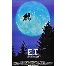 E.T Clásico Póster Película . Varios Tamaños - A4 Tamaño 21 x 29 cms