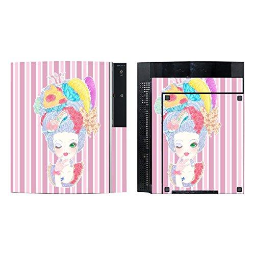Disagu SF-sdi-3372_1137 Design Folie für Sony PS3 stehend mit Controller - Motiv Marie-Antoinette 02