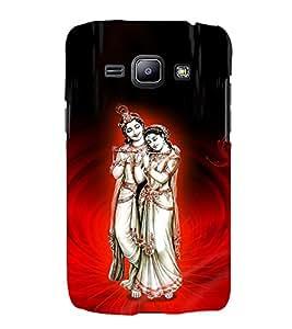 Satyavrata Krishna 3D Hard Polycarbonate Designer Back Case Cover for Samsung Galaxy J1 (2016) :: Samsung Galaxy J1 (2016) J120H