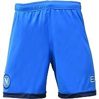 SSC NAPOLI - Season 21/22 Shorts Gara Azzurro, Pantaloncini da Gioco Ufficiale Uomo