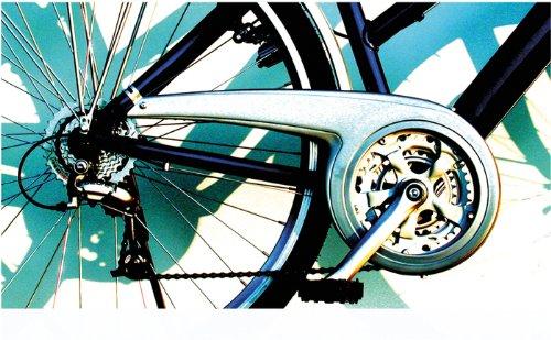 DEKAFORM Fahrrad Kettenschutz Performance Line ATB MTB 230-2 bis 48 Zähne*silber -