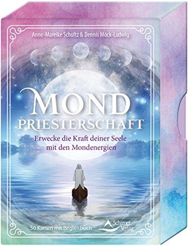 Mondpriesterschaft: Erwecke die Kraft deiner Seele mit den Mondenergien - 50 Karten mit Begleitbuch (Großes Danke-gruß-karten)