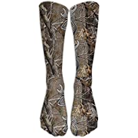 pigyear888 Camouflage Realtree Knee High Graduated Compression Socks For Women And Men - Best Medical, Nursing, Travel & Flight Socks - Running & Fitness