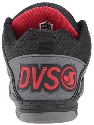 DVS COMMANCHE, Sneaker uomo BLK CHAR LTHR
