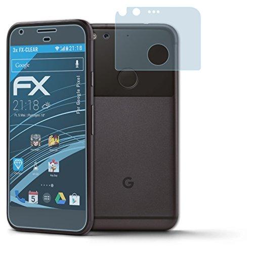 atFolix Schutzfolie kompatibel mit Google Pixel Folie, ultraklare FX Bildschirmschutzfolie (3er Set)