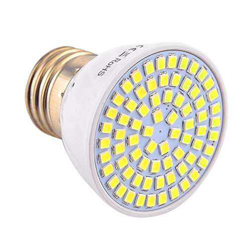 JIALUN-LED E27 72LED 7W 2835SMD 600-700Lm Blanco cálido Blanco frío LED proyector...