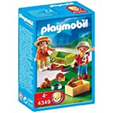 playmobil 6439 ducatrisse de garderie avec enfants et charrette emballage plastique pas. Black Bedroom Furniture Sets. Home Design Ideas