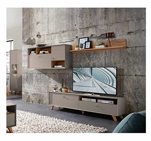 Wohnzimmerschrank modern - Anbauwand modern ...