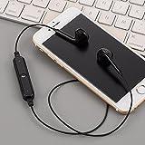Scallop Bluetooth Kopfhörer Wireless Headset,4.1 in Ear Kabellos Sportkopfhörer, Stereo Kopfhörer mit Mikrofon für Sport, Laufen, Gymnastik, Etc.