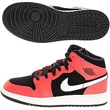 quite nice a63e2 8a478 Nike Air Jordan 1 Mid (GS) Scarpe da Fitness Uomo