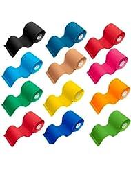 5m Kinesiologie Tape in 12 Farben / Breite zwischen 2,5cm; 5cm; 7,5cm & 10cm