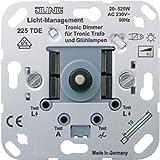 Jung 225TDE Tronic-Drehdimmer mit Druck-Wechselschal