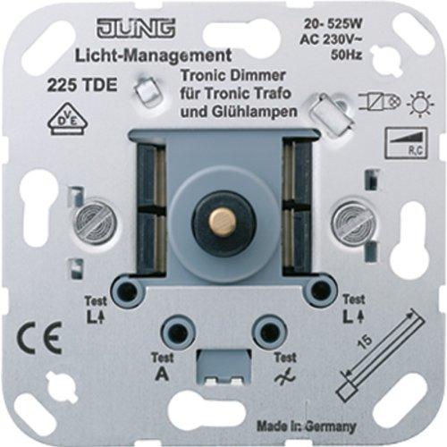 Preisvergleich Produktbild Jung 225TDE Tronic-Drehdimmer mit Druck-Wechselschal