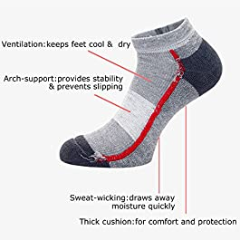 12 PAIA Donna Trainer Liner alla caviglia con suola imbottita WOMEN/'S SOCKS LOTTO TG 4-7