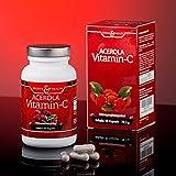 Acerola Vitamin C – natürliches Vitamin C – 90 Kapseln – 3 Monatsvorrat - 4