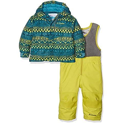 Columbia–Mono y chaqueta de esquí de, Infantil, Buga, Deep Marine Fair Isle, XXS
