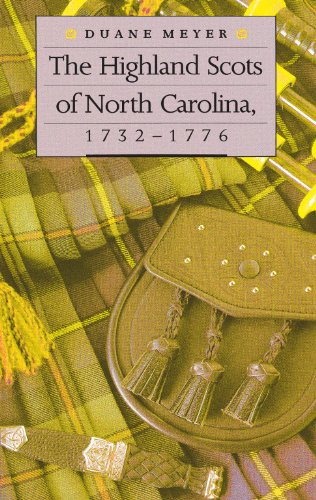 Price comparison product image The Highland Scots of North Carolina,  1732-1776