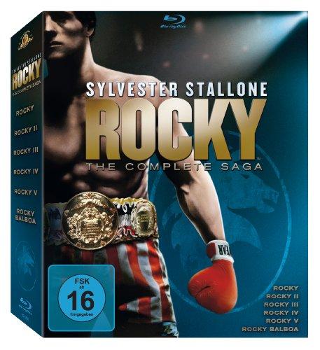 Bild von Rocky 1-6 - The Complete Saga [Blu-ray]
