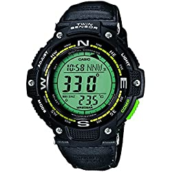 Casio Reloj Digital para Hombre con Correa de Tela – SGW-100B-3A2ER