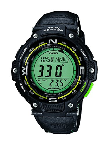 Casio Herren-Armbanduhr Collection Digital Quarz Resin SGW-100B-3A2ER