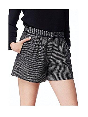 Pepe Jeans -  Pantaloncini  - Donna nero/bianco S