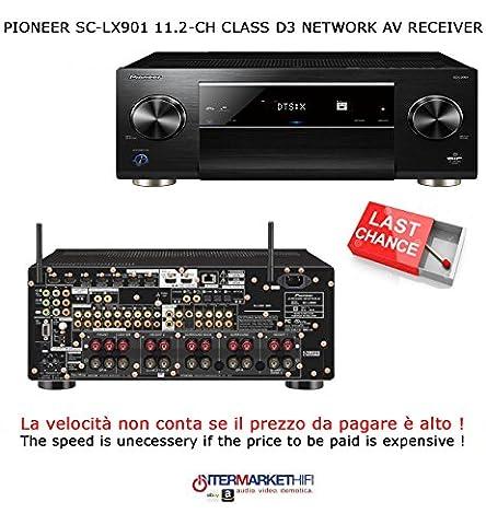 Pioneer sc-lx90111.2-ch Class D3network AV Receiver, Black