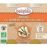Babybio panais jambon 6 mois 2 x 200g - ( Prix Unitaire ) - Envoi Rapide Et Soignée