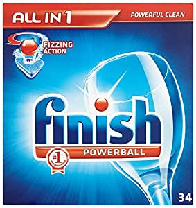 Finish All-in-One Regular (Pack of One, Total 34 Tablets )