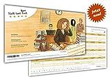 arheko Stadt Land Büro -Spaß und Humor am Arbeitsplatz -55 Seiten Block - 26 Kategorien im Din A4 Format –Witziges Spiel, Geschenk für Kollegen