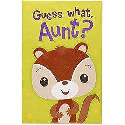 Eichhörnchen Geburtstagskarte für Tante mit Folie