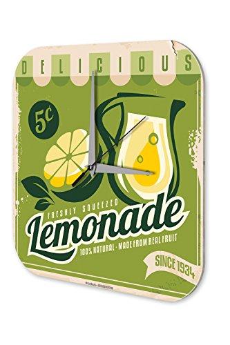 Wanduhr Softdrink Limo Limonade Acryl Dekouhr Nostalgie